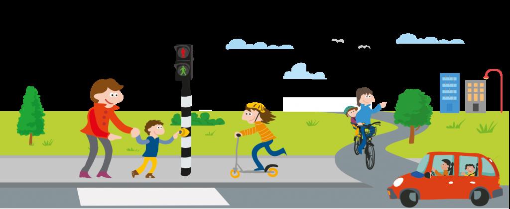afbeelding Jongleren in het verkeer