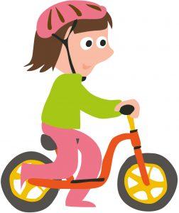 leren fietsen met een loopfiets